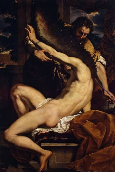 Painting - Icarus by Charles Le Brun
