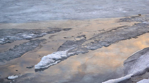 Wall Art - Photograph - Ice And Clouds 2  by Lyle Crump