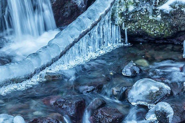 Photograph - Ice And Water, No. 3 by Belinda Greb