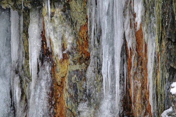 Photograph - Ice And Stone by John Meader
