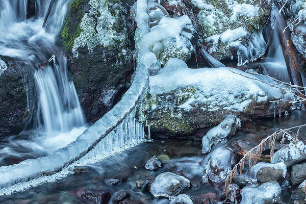 Photograph - Ice And Water, No. 4 by Belinda Greb