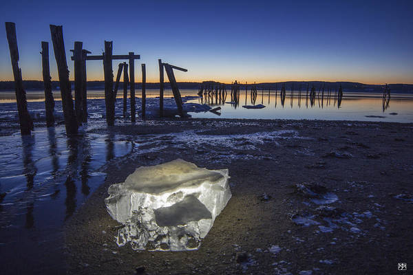Photograph - Ice At Sunrise by John Meader