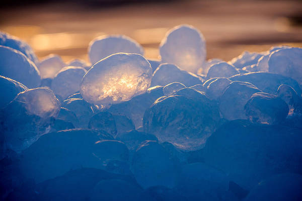Photograph - Ice Balls by Rikk Flohr