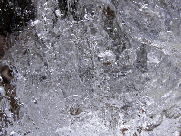 Photograph - Ice Bubbles by Sami Tiainen