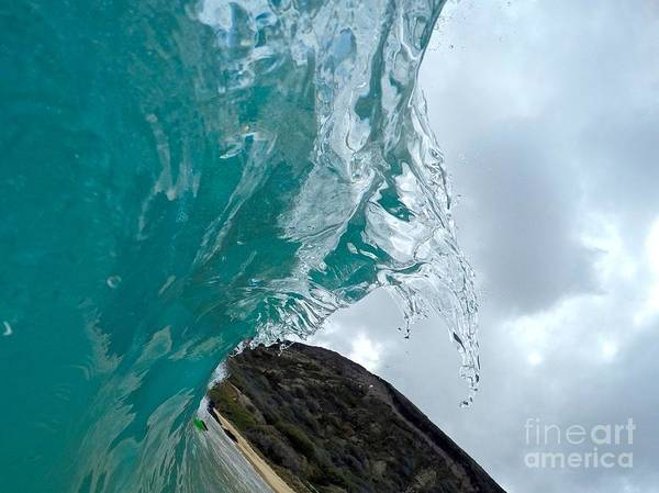 Bodyboard Photograph - Ice Claw  by Benen  Weir