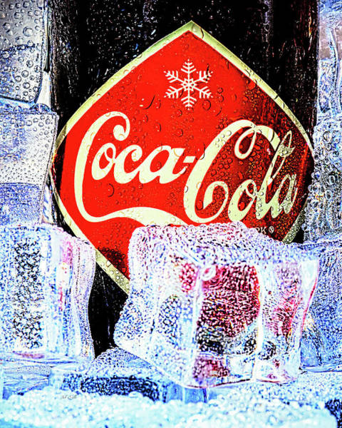 Photograph - Ice Cold Coke by Bob Orsillo
