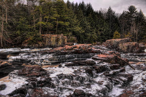 Photograph - Ice Covered Eau Claire Dells Park by Dale Kauzlaric