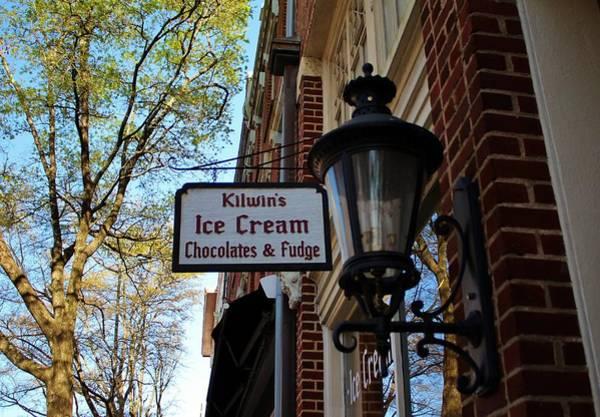 Photograph - Ice Cream And Fudge Shop by Cynthia Guinn