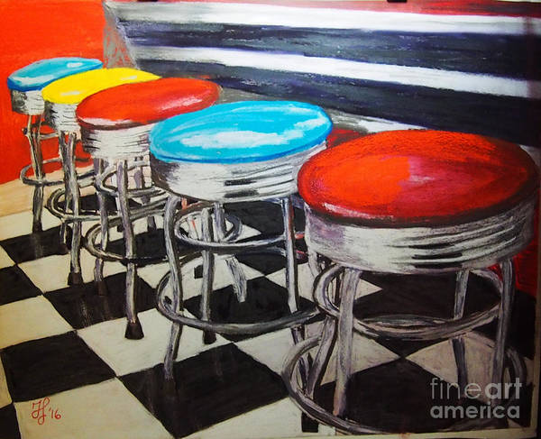 Painting - Ice Cream Anyone? by Francois Lamothe