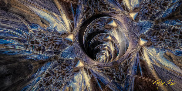 Photograph - Ice Crystal Abstract by Rikk Flohr