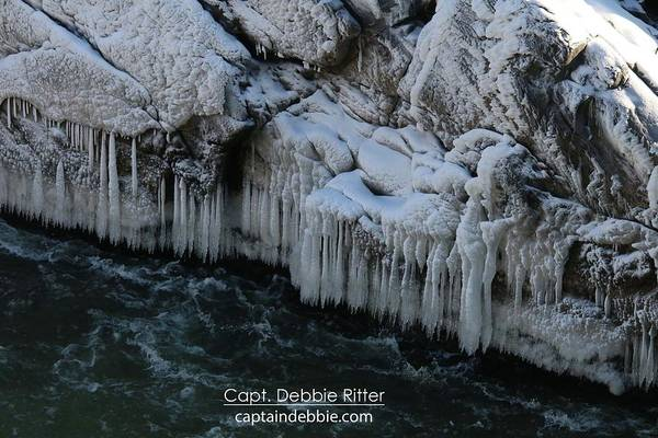 Photograph - Ice Cycles 2299 by Captain Debbie Ritter