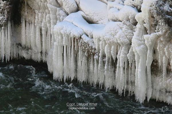 Photograph - Ice Cycles 2340 by Captain Debbie Ritter