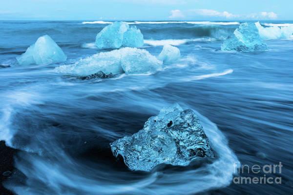 Photograph - Ice Diamonds by Inge Johnsson