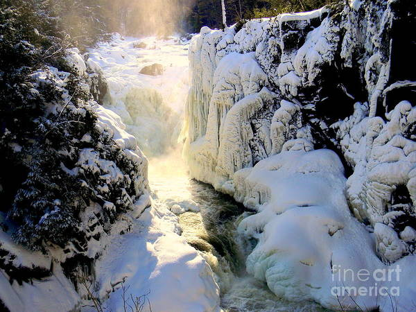 Rawdon Photograph - Ice by Elfriede Fulda