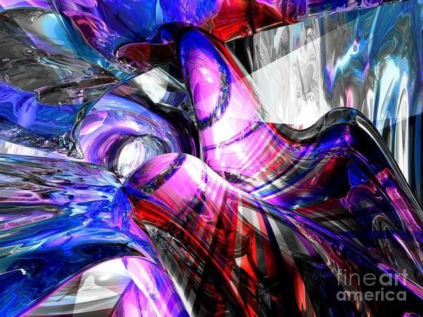 Wall Art - Digital Art - Ice Fairies Abstract by Alexander Butler