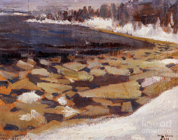 Painting - Ice Floes At Kalelas Shore by Celestial Images