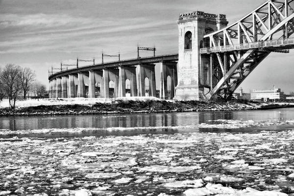 Photograph - Ice Flows On The East River by Cate Franklyn