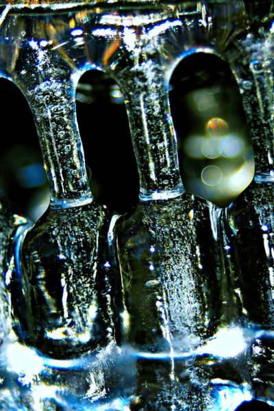 Ice Formation 02 Art Print