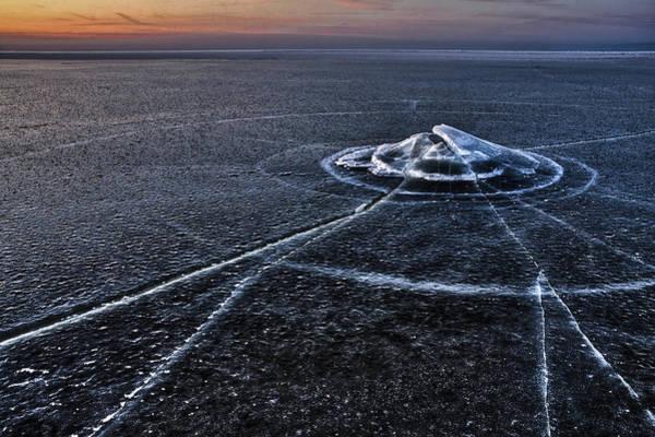 Wall Art - Photograph - Ice Galaxy by Eriks Zilbalodis