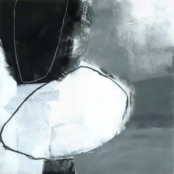 Panel Painting - Ice Jam #1 by Jane Davies