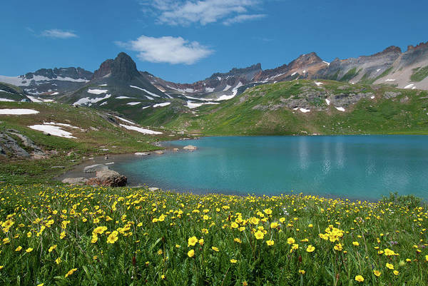 Photograph - Ice Lake Summer Landscape by Cascade Colors