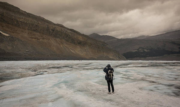 Photograph - Ice Loner by Kristopher Schoenleber