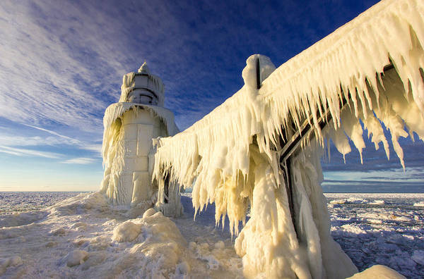 Wall Art - Photograph - Ice Monster by Jackie Novak