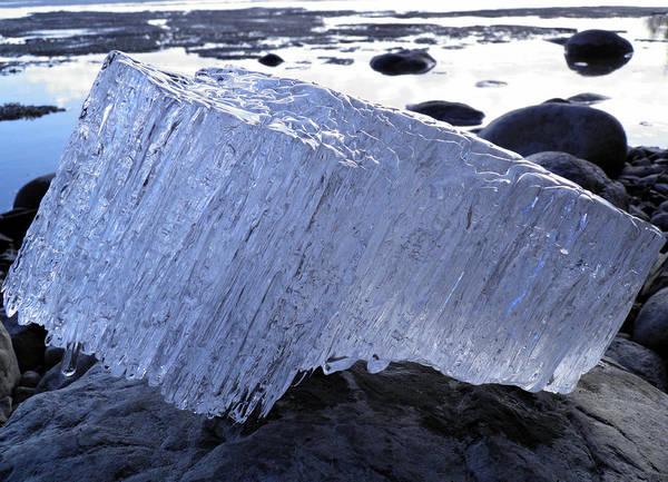 Photograph - Ice On Rocks 1 by Sami Tiainen