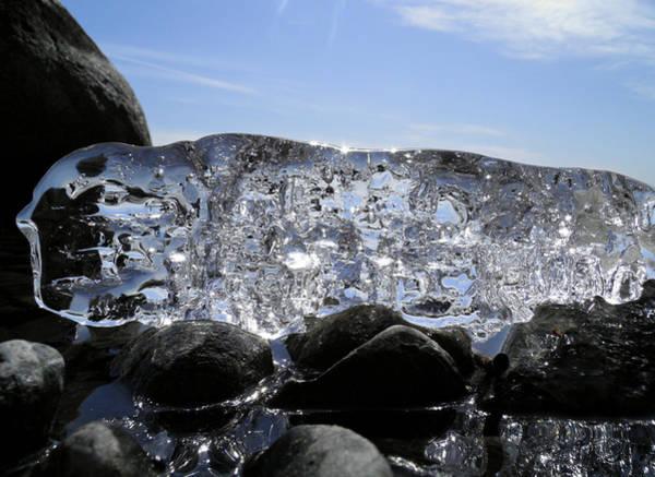 Photograph - Ice On Rocks 3 by Sami Tiainen
