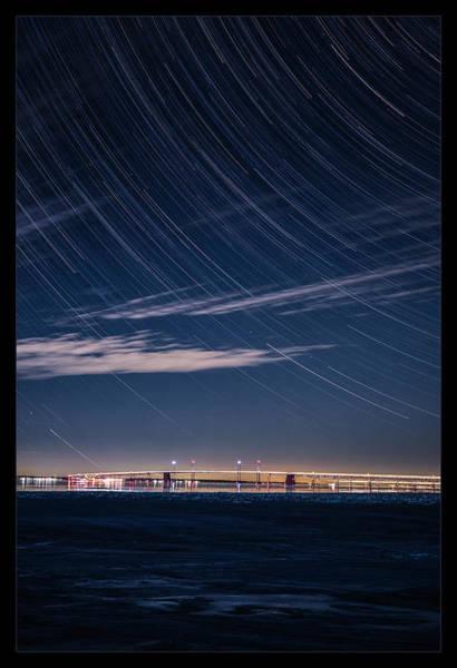 Chesapeake Bay Photograph - Ice On The Bay by Robert Fawcett