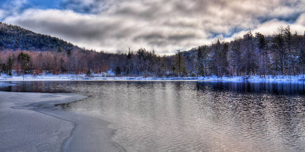 Photograph - Ice On The Shore Of West Lake by David Patterson