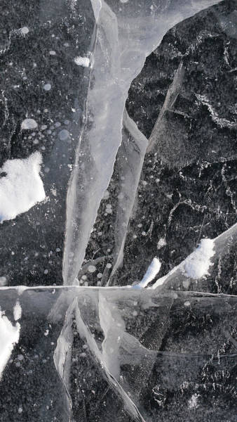 Photograph - Ice Paterns Xvi by Steven Ralser