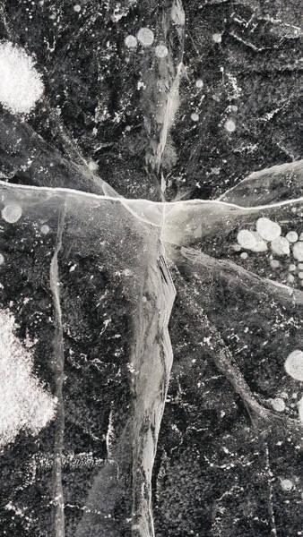 Photograph - Ice Patterns Xix by Steven Ralser