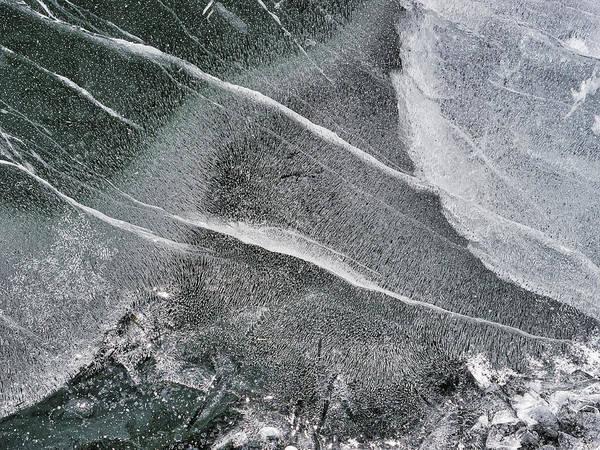 Photograph - Ice Patterns Xxxii by Steven Ralser