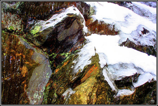 Photograph - Ice Snow And Stone by Wayne King