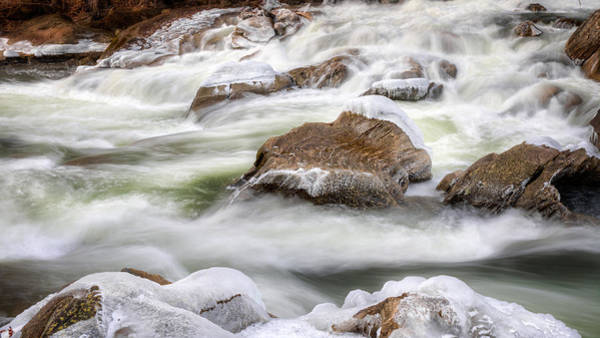 Photograph - Ice Water Rapids by Bill Wakeley