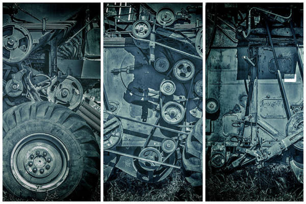 Photograph - Iceage Combine Harvester  by John Williams