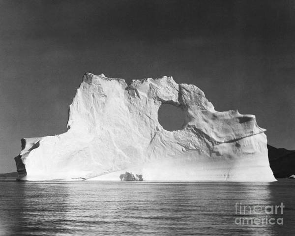 Photograph - Iceberg, 1943 by Granger