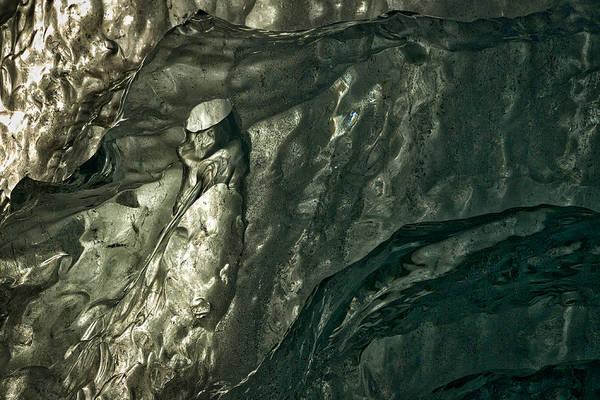 Photograph - Iceberg Details #12 - Iceland by Stuart Litoff