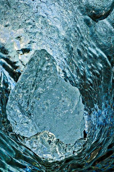 Photograph - Iceberg Details #4 - Iceland by Stuart Litoff