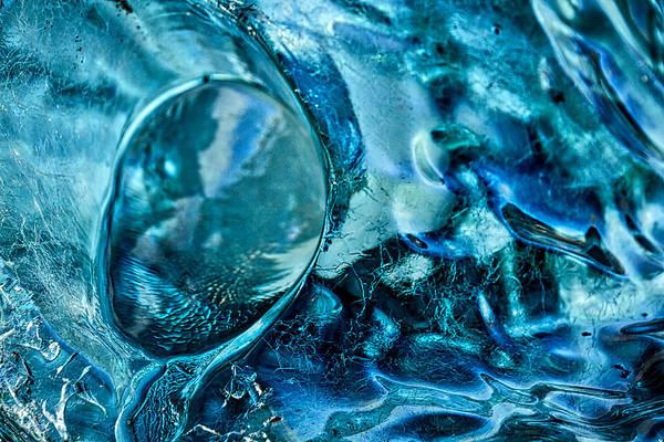 Photograph - Iceberg Details #5 - Iceland by Stuart Litoff