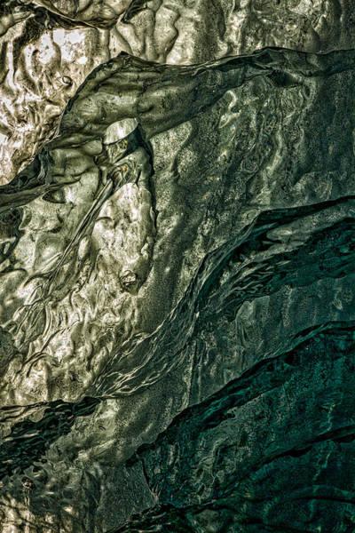 Photograph - Iceberg Details #7 - Iceland by Stuart Litoff