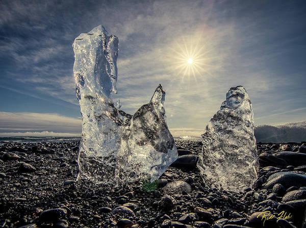 Photograph - Iceberg Fingers Catching The Sun by Rikk Flohr