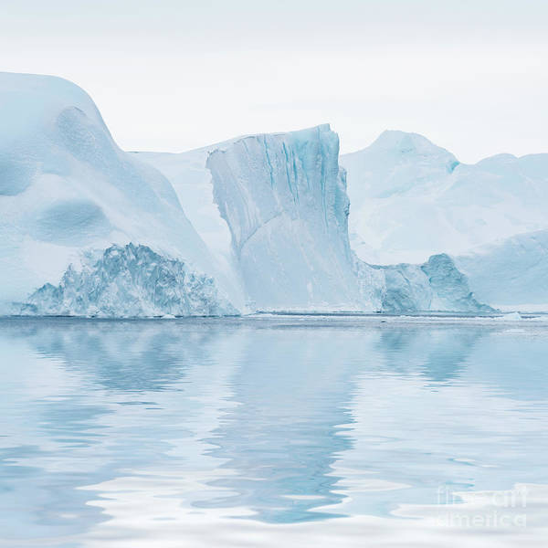 Glacier Bay Photograph - Iceberg In Disko Bay Greenland by Janet Burdon