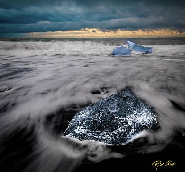 Photograph - Iceberg Remnant by Rikk Flohr