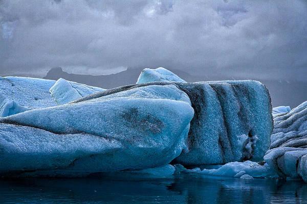 Photograph - Icebergs In Glacier Lagoon #4 - Iceland by Stuart Litoff