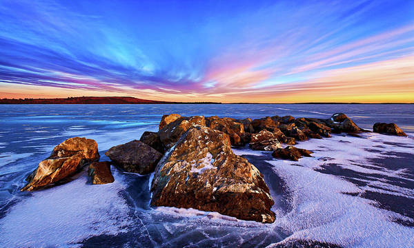 Photograph - Icebound 2 by ABeautifulSky Photography by Bill Caldwell