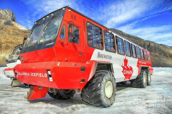 Photograph - Icefield Explorer by Teresa Zieba