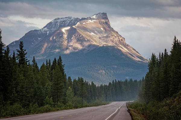 Photograph - Icefields Parkway Banff National Park by Joan Carroll