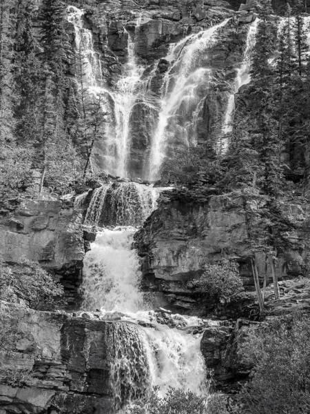 Icefields Waterfall Art Print